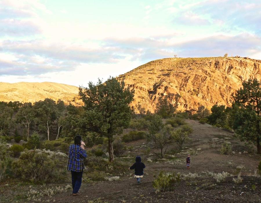 Walk at Angorichina