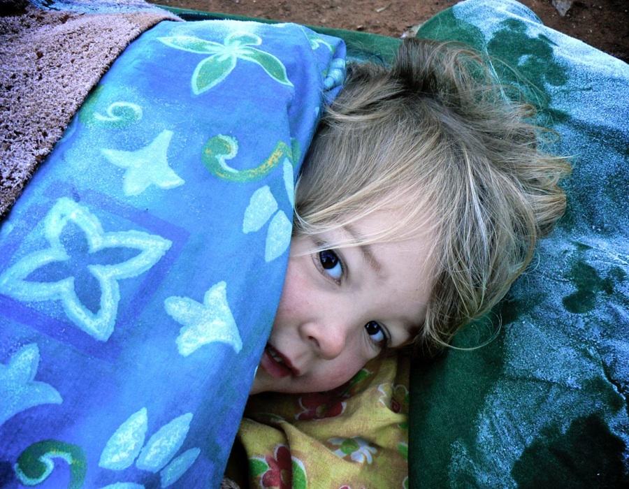 Miriam on a cold morning at arkaroola - Version 3