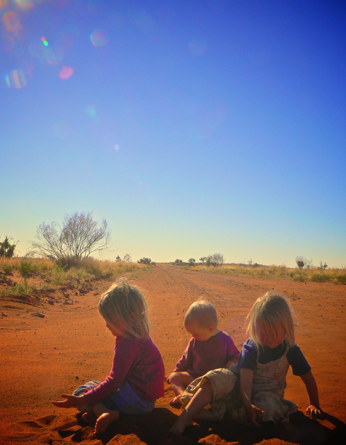 playing in the red dirt - Version 3